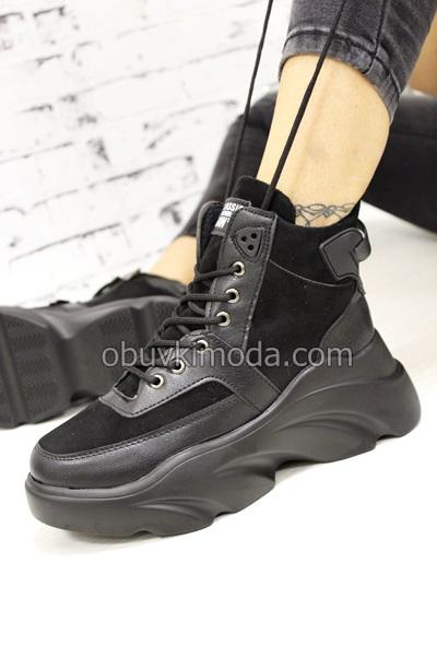 Спортни обувки - 955-2-BLACK