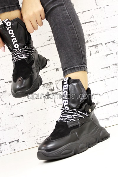 Спортни обувки - 71-1-BLACK