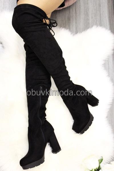 Дамски чизми - R325-BLACK