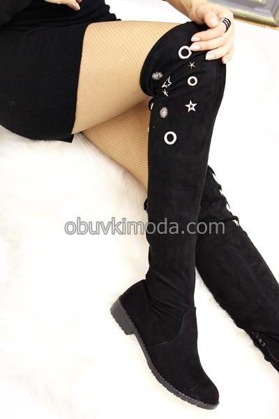 Дамски чизми - L277-BLACK