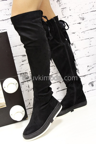 Дамски ботуши - F207-BLACK