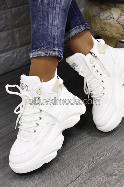 Спортни обувки - 955-3-WHITE