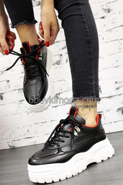 Спортни обувки - X533-BLACK/RED