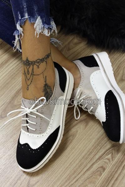 Дамски обувки - 2451-1-BLACK