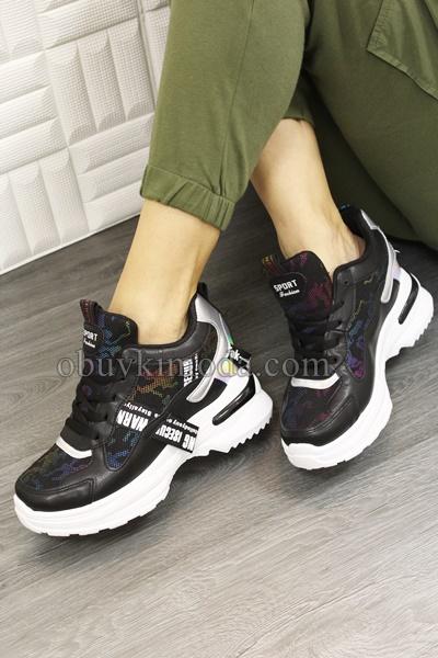 Спортни обувки на платформа - 2018-36-BLACK