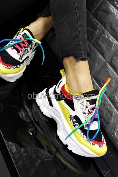 Дамски маратонки - RAL-74-BLACK