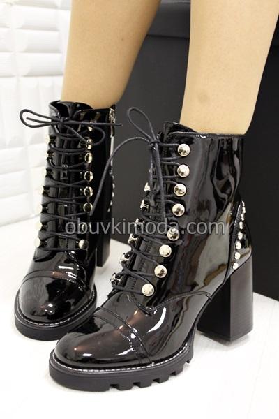 Дамски боти - S293-BLACK