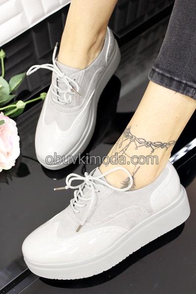 Дамски обувки - BD-6508A-GRIGIO