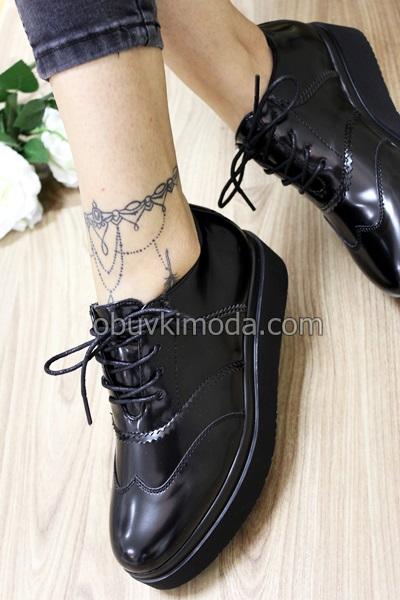 Дамски обувки - BD-8251-BLACK