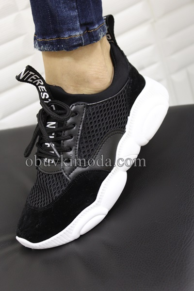 Дамски маратонки - ABC-300-BLACK