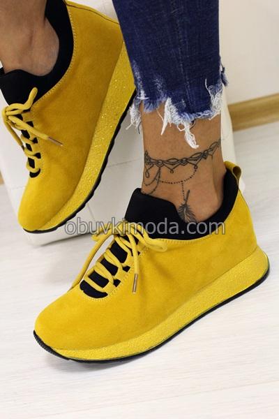 Спортни обувки - SZ216-YELLOW
