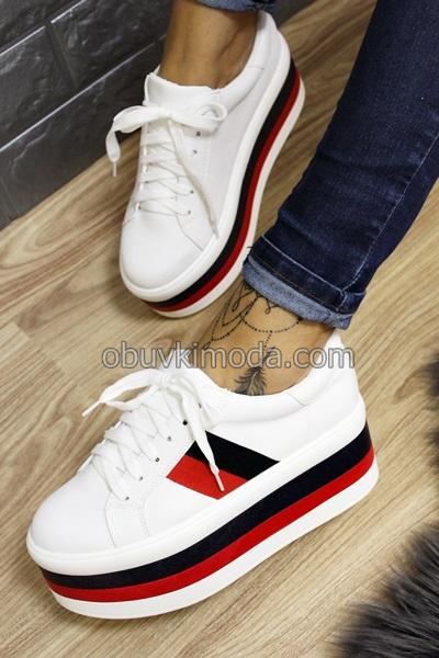 Спортни обувки - XS004-WHITE